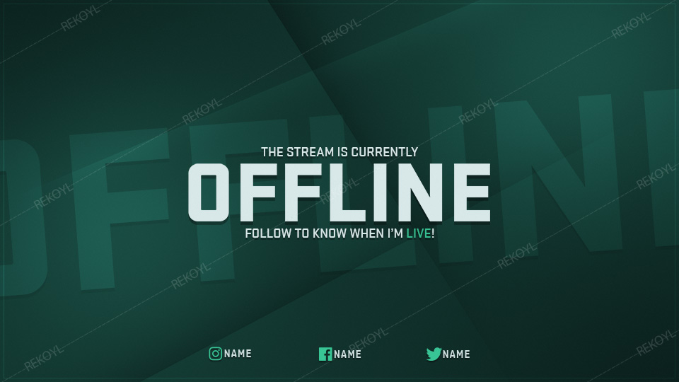 Glimmer Stream Package Twitch Overlays